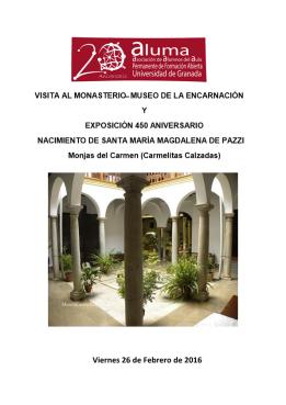 VISITA AL MONASTERIO de la Encarnación-page1